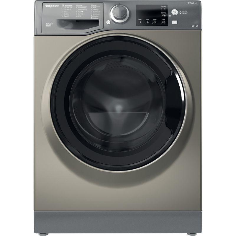 Hotpoint-Washer-dryer-Free-standing-RDGR-9662-GK-UK-N-Graphite-Front-loader-Frontal