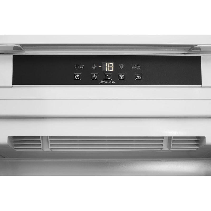 Hotpoint-Freezer-Built-in-HF-1801-E-F1-UK-White-Control-panel