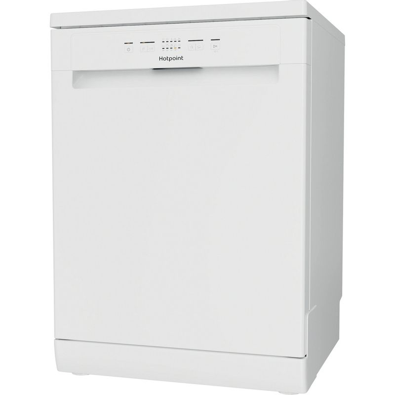 Hotpoint-Dishwasher-Free-standing-HFC-2B19-UK-N-Free-standing-F-Perspective