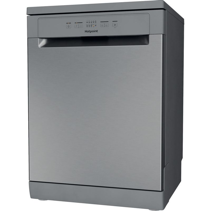 Hotpoint-Dishwasher-Free-standing-HFC-2B19-X-UK-N-Free-standing-F-Perspective
