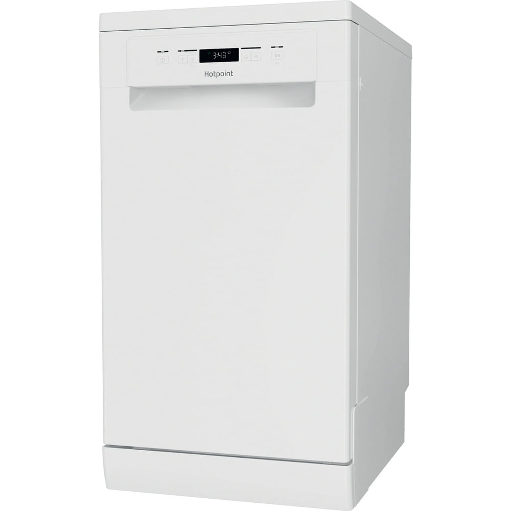 Hotpoint Freestanding Dishwasher HSFC 3M19 C UK N : discover the specifications of our home appliances and bring the innovation into your house and family.