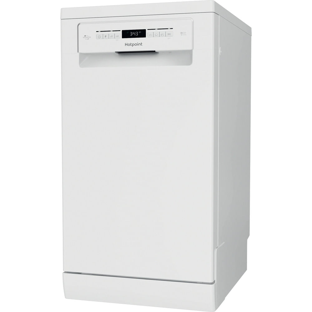 Hotpoint Freestanding Dishwasher HSFO 3T223 W UK N : discover the specifications of our home appliances and bring the innovation into your house and family.