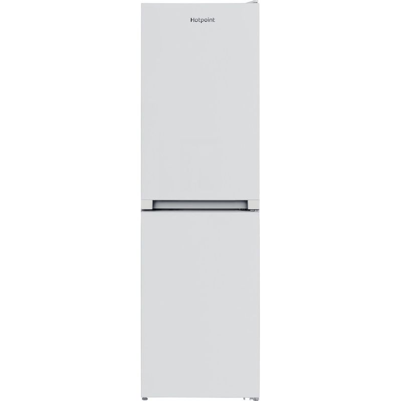 Hotpoint-Fridge-Freezer-Free-standing-HBNF-55181-W-UK-1-White-2-doors-Frontal