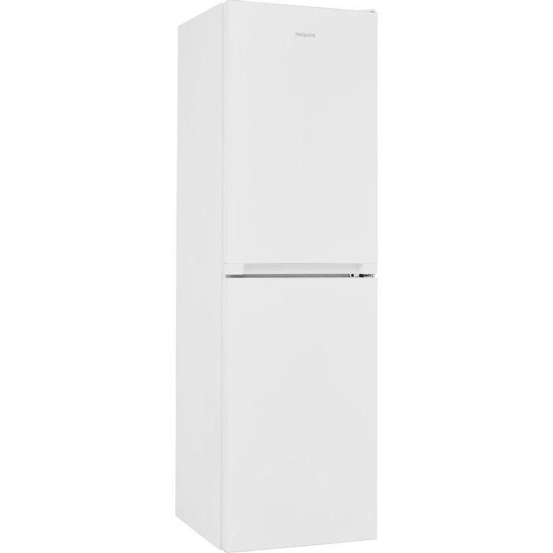 Hotpoint-Fridge-Freezer-Free-standing-HBNF-55181-W-UK-1-White-2-doors-Perspective