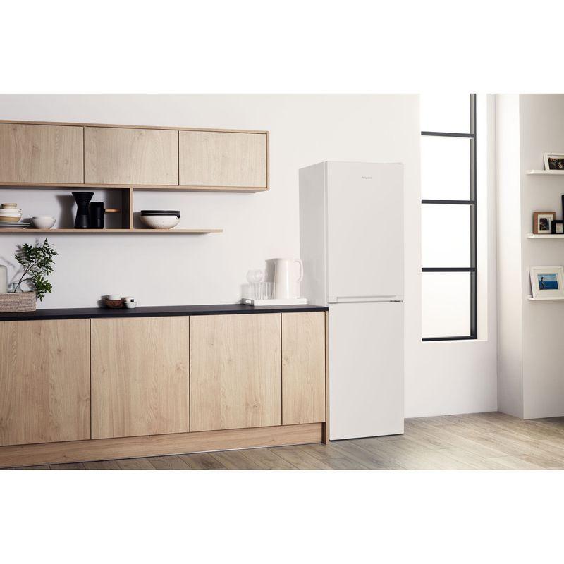 Hotpoint-Fridge-Freezer-Free-standing-HBNF-55181-W-UK-1-White-2-doors-Lifestyle-perspective