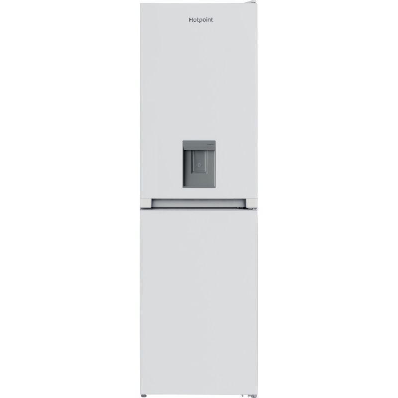 Hotpoint-Fridge-Freezer-Free-standing-HBNF-55181-W-AQUA-UK-1-White-2-doors-Frontal