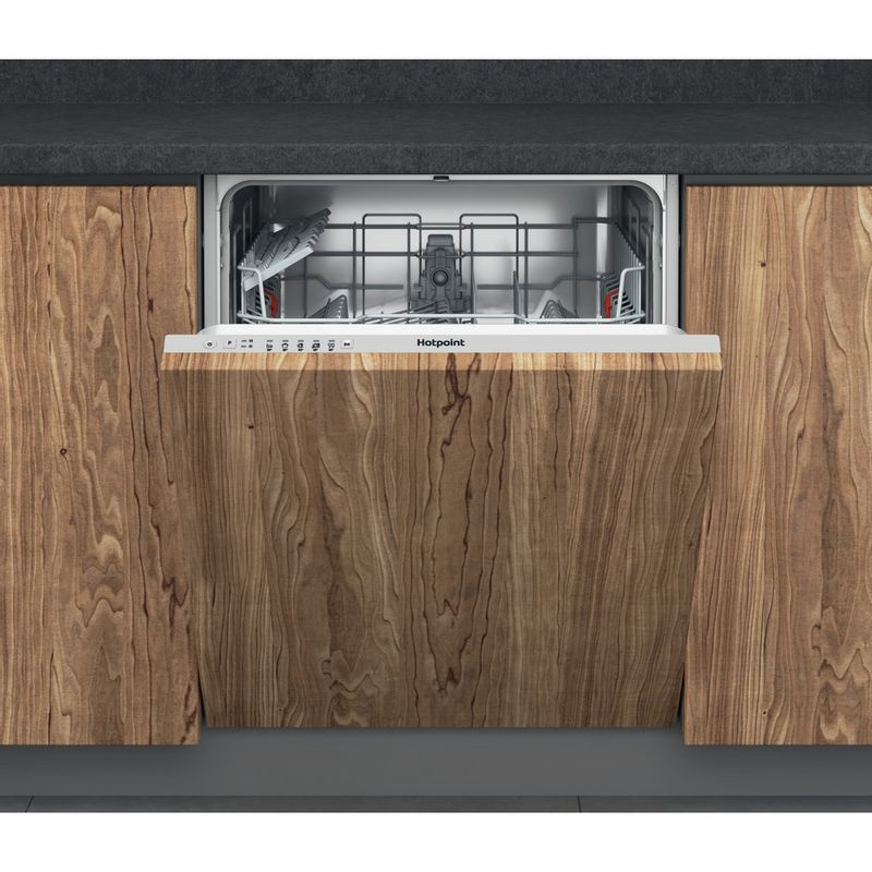 Hotpoint-Dishwasher-Built-in-HIE-2B19-UK-Full-integrated-F-Frontal