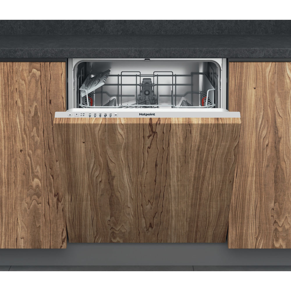 Hotpoint Integrated Dishwasher HIE 2B19 UK : discover the specifications of our home appliances and bring the innovation into your house and family.
