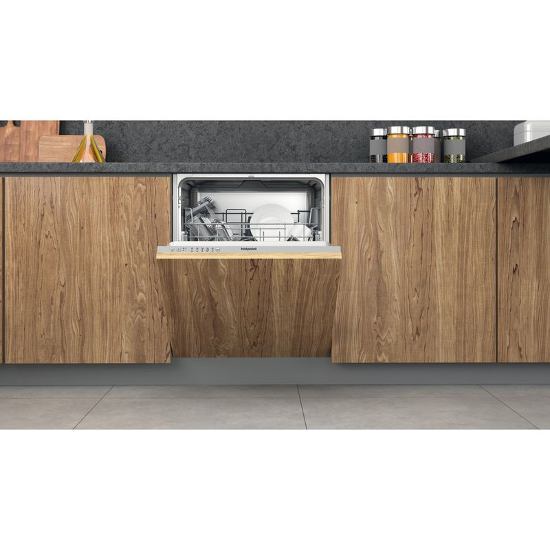 Hotpoint-Dishwasher-Built-in-HIE-2B19-UK-Full-integrated-F-Lifestyle-frontal-open