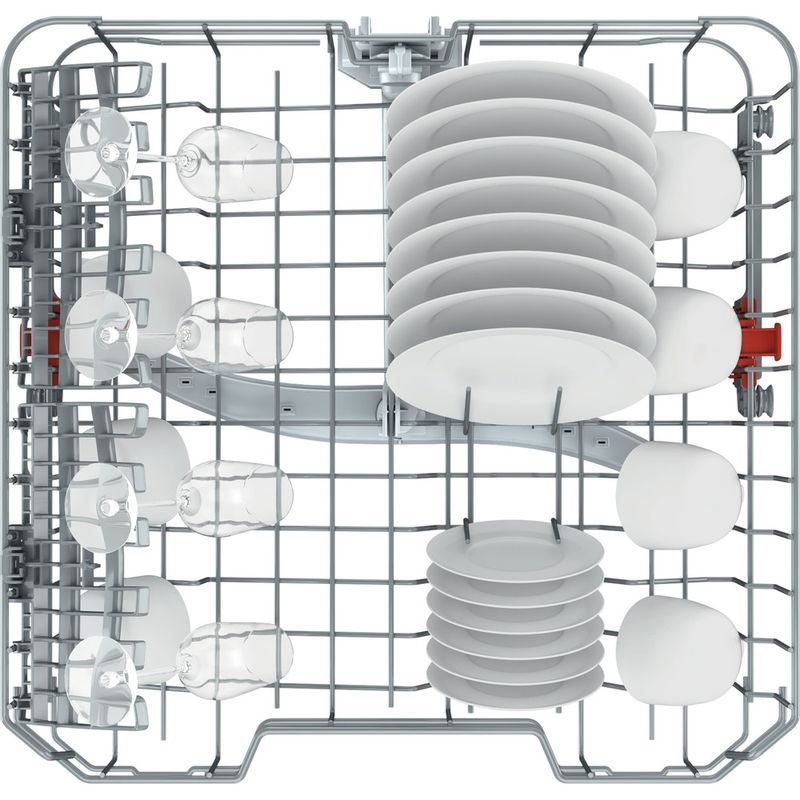 Hotpoint-Dishwasher-Built-in-HIE-2B19-UK-Full-integrated-F-Rack