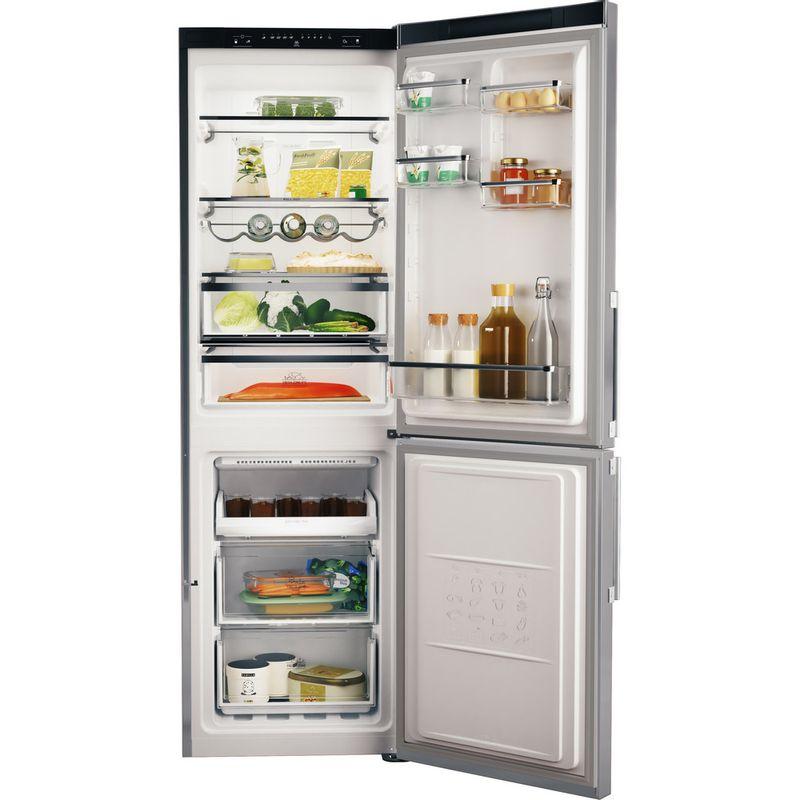 Hotpoint-Fridge-Freezer-Free-standing-H5T-811I-MX-H-1-Mirror-Inox-2-doors-Frontal-open