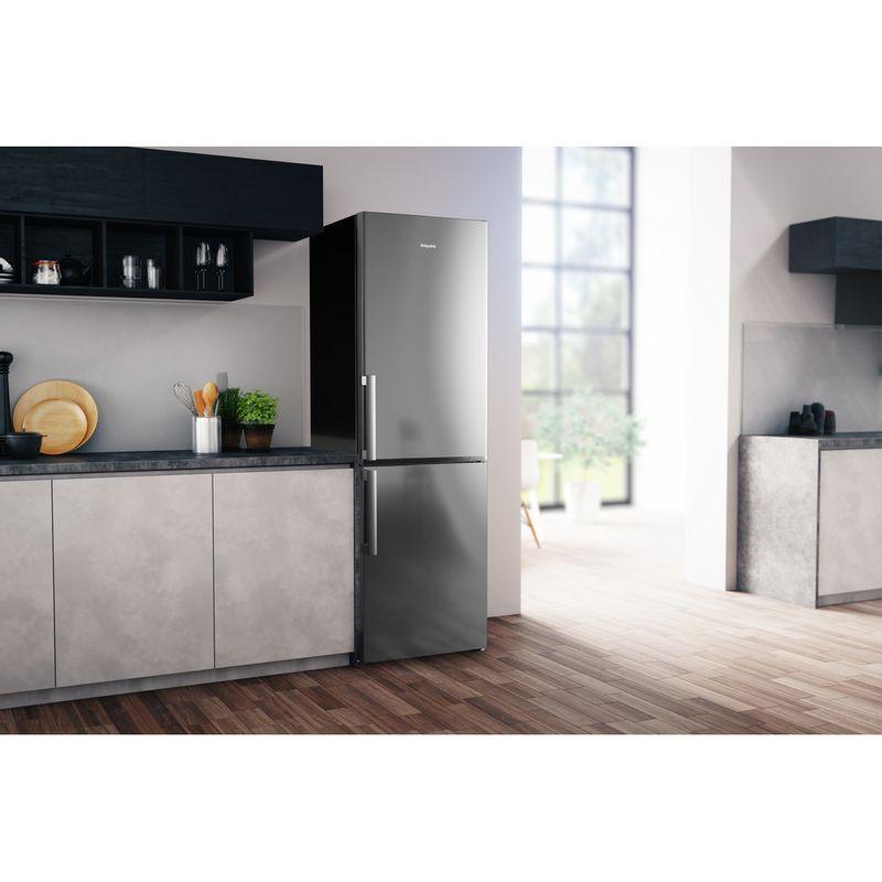Hotpoint-Fridge-Freezer-Free-standing-H5T-811I-MX-H-1-Mirror-Inox-2-doors-Lifestyle-perspective