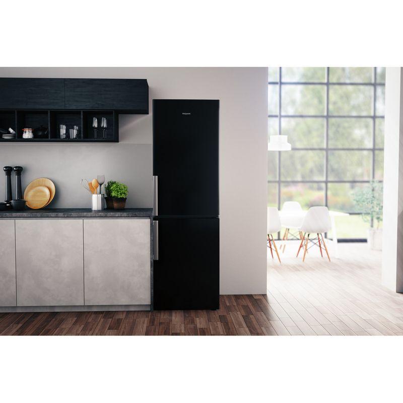 Hotpoint-Fridge-Freezer-Free-standing-H5T-811I-K-H-1-Black-2-doors-Lifestyle-frontal