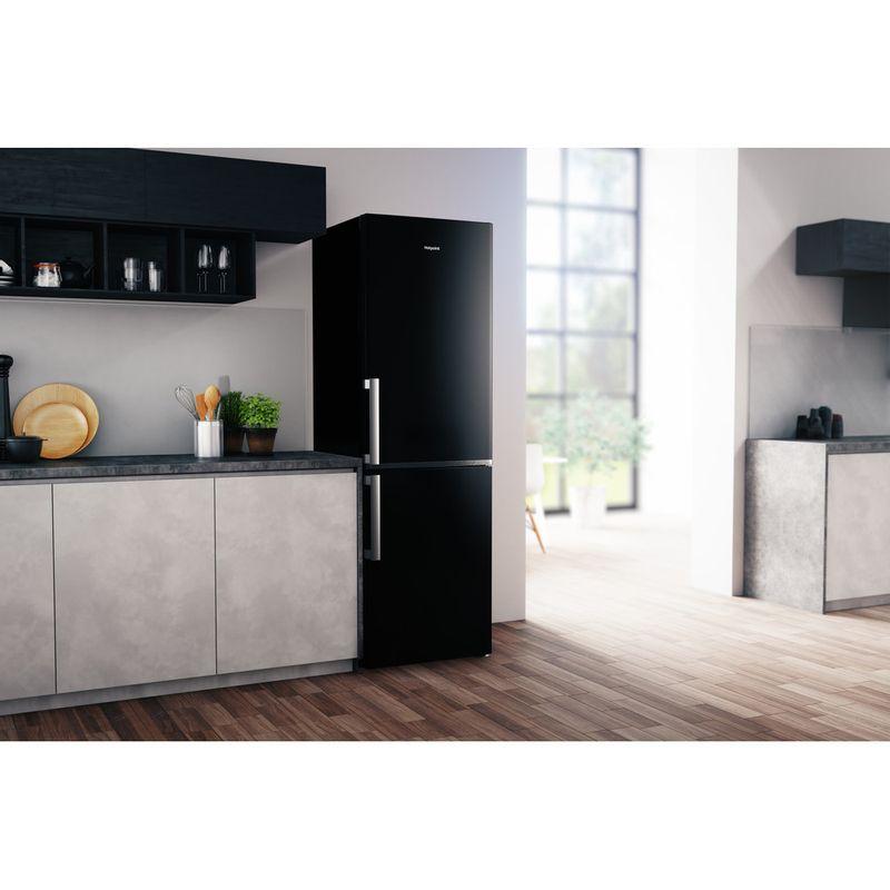 Hotpoint-Fridge-Freezer-Free-standing-H5T-811I-K-H-1-Black-2-doors-Lifestyle-perspective