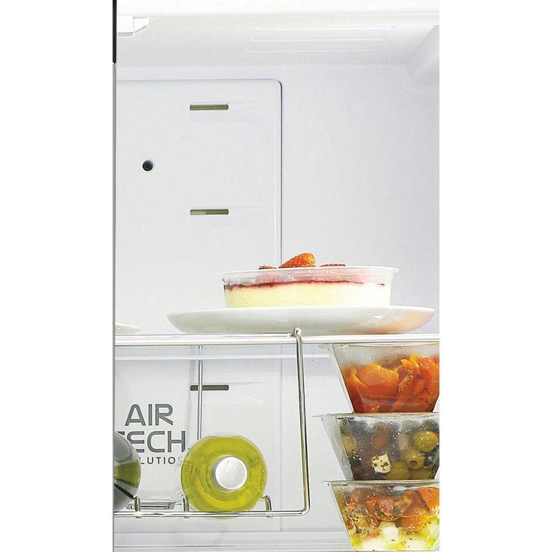 Hotpoint-Fridge-Freezer-Free-standing-FFU4D-K-1-Black-4-doors-Lifestyle-detail
