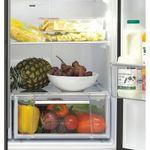 Hotpoint-Fridge-Freezer-Free-standing-FFU4D-K-1-Black-4-doors-Drawer