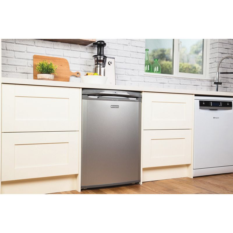 Hotpoint-Refrigerator-Free-standing-RLA36G-1-Graphite-Lifestyle-perspective