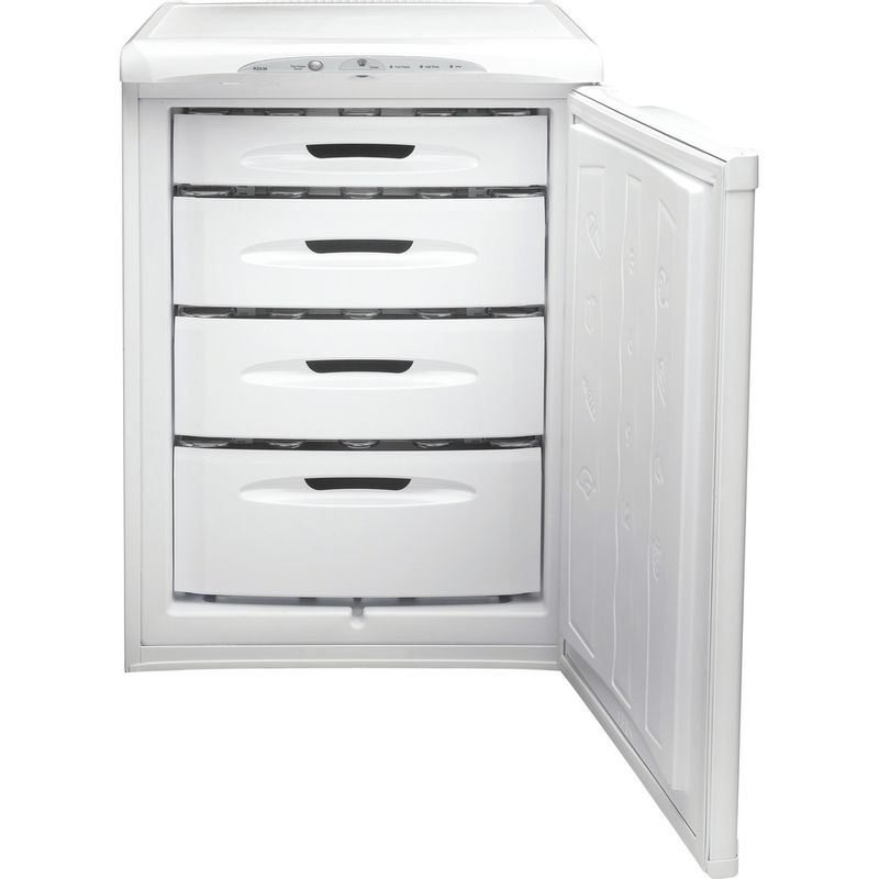 Hotpoint-Freezer-Free-standing-RZA36P-1-Global-white-Frontal-open