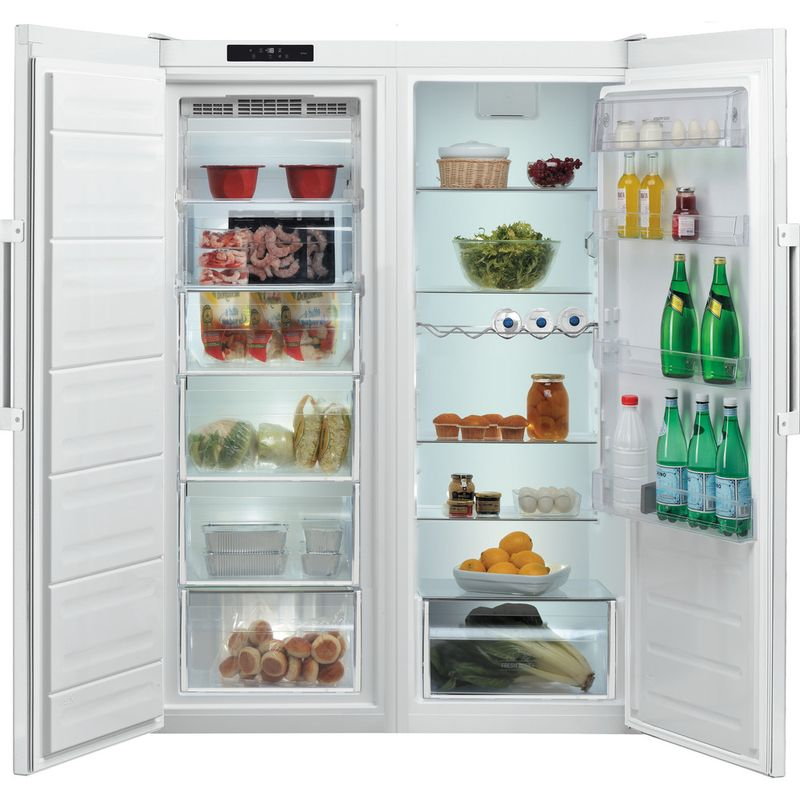 Hotpoint-Freezer-Free-standing-UH6-F1C-W-1-Global-white-Frontal-open