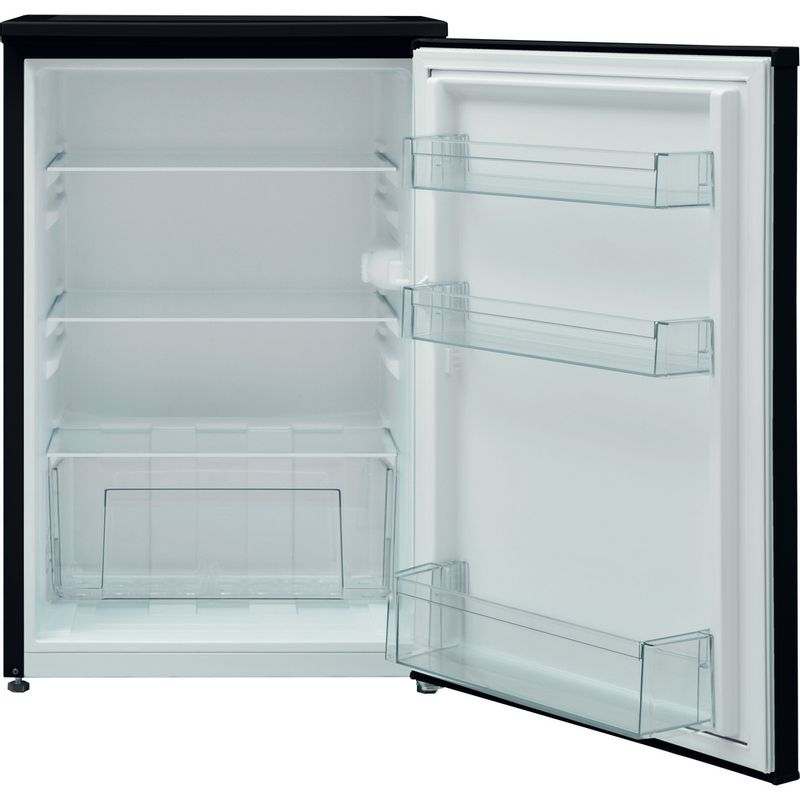 Hotpoint-Refrigerator-Free-standing-H55RM-1110-K-1-Black-Frontal-open
