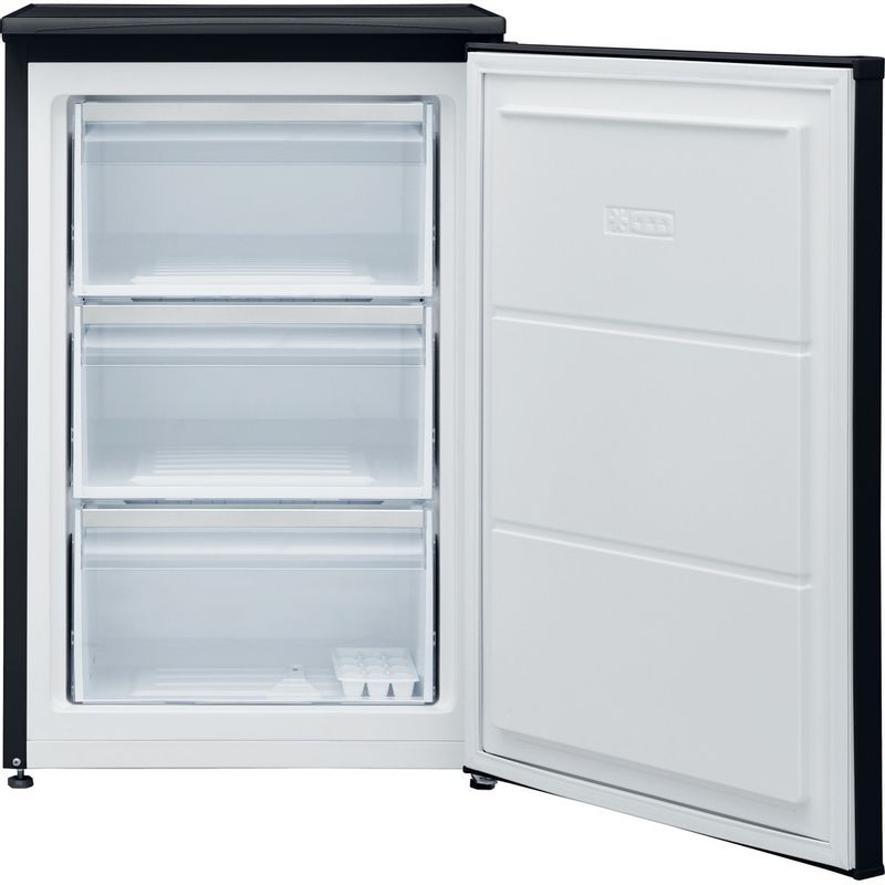 Hotpoint-Freezer-Free-standing-H55ZM-1110-K-1-Black-Frontal-open