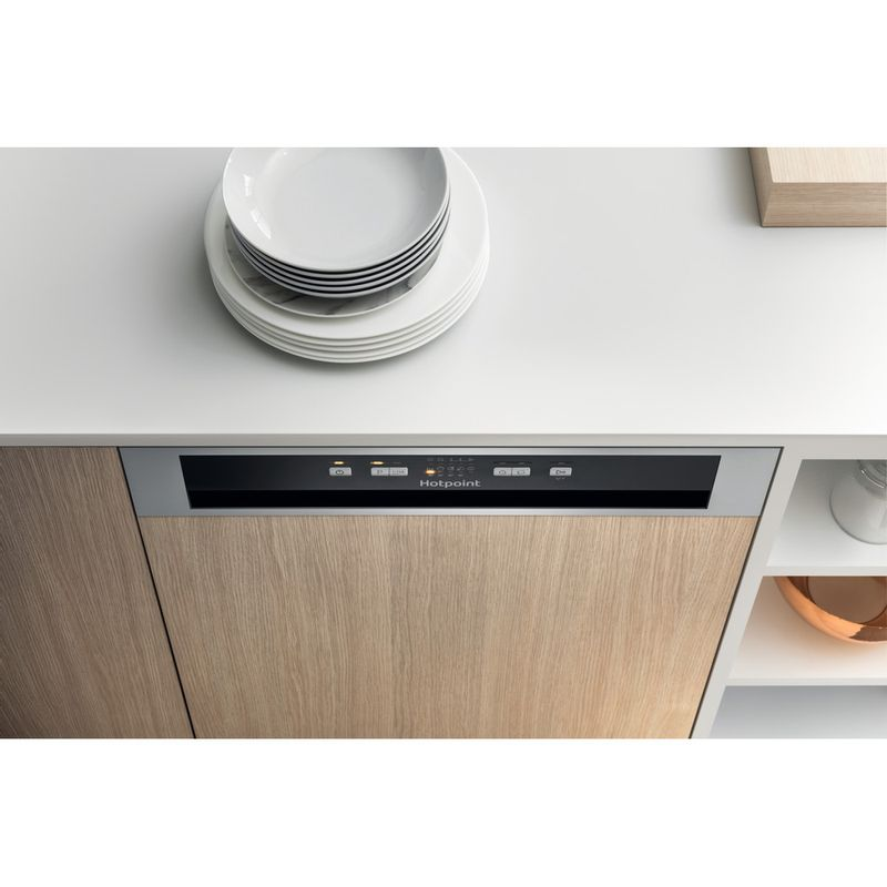Hotpoint-Dishwasher-Built-in-HBC-2B19-X-UK-N-Half-integrated-F-Lifestyle-control-panel