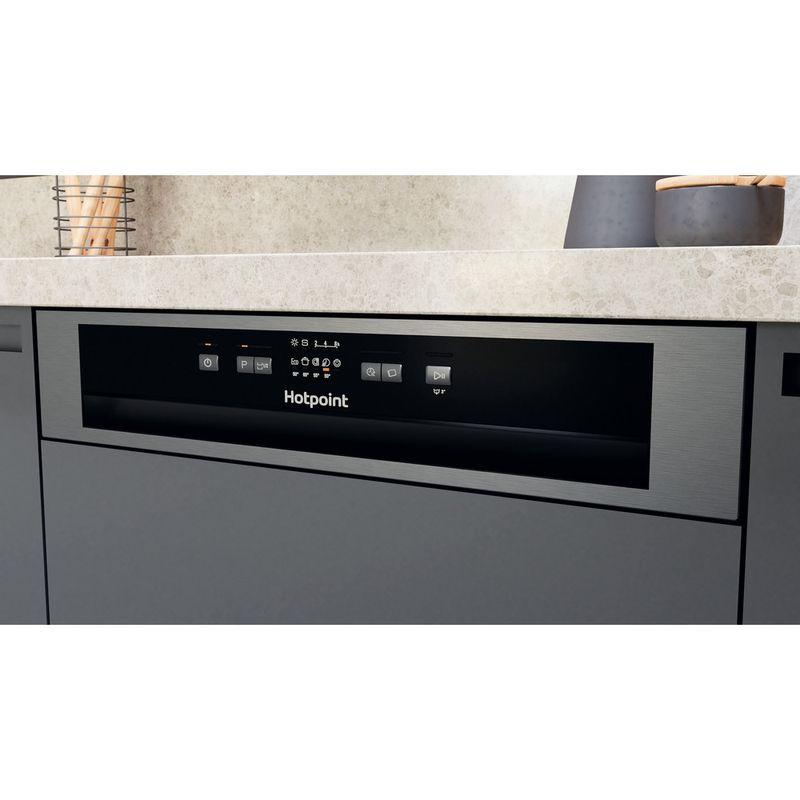 Hotpoint-Dishwasher-Built-in-HBC-2B19-X-UK-N-Half-integrated-F-Control-panel
