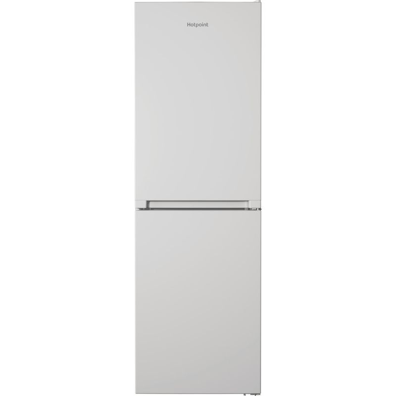 Hotpoint-Fridge-Freezer-Free-standing-HTFC8-50TI1-W-1-White-2-doors-Frontal