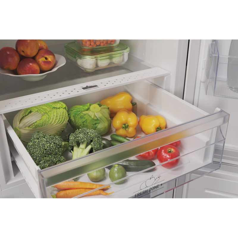 Hotpoint-Fridge-Freezer-Free-standing-HTFC8-50TI1-W-1-White-2-doors-Drawer