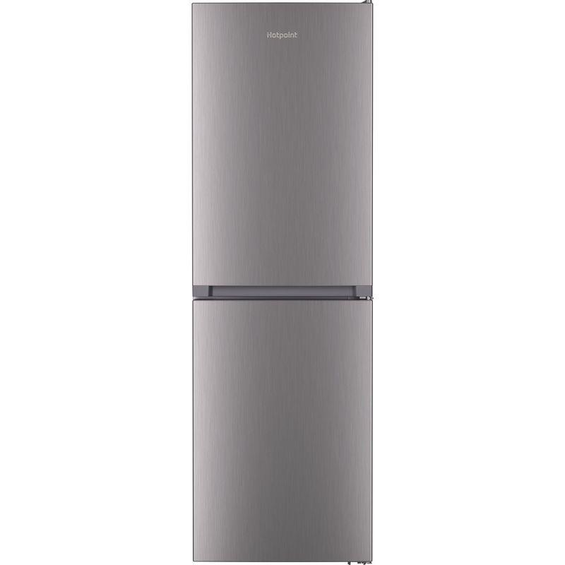 Hotpoint-Fridge-Freezer-Free-standing-HTFC8-50TI1-X-1-Inox-2-doors-Frontal
