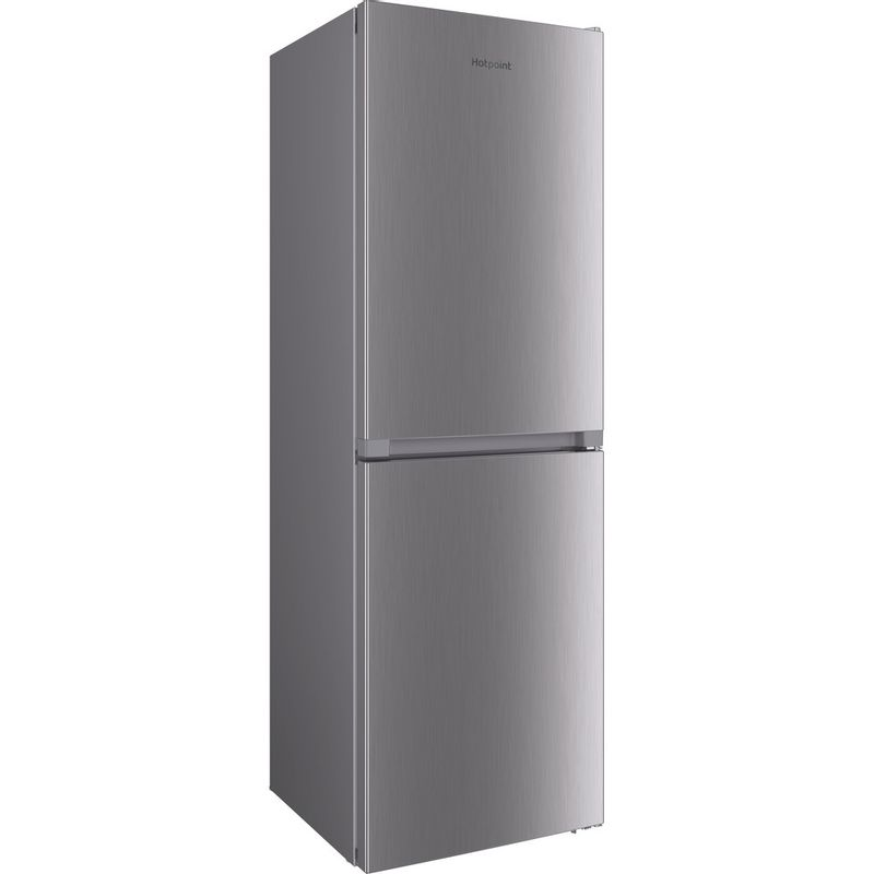 Hotpoint-Fridge-Freezer-Free-standing-HTFC8-50TI1-X-1-Inox-2-doors-Perspective