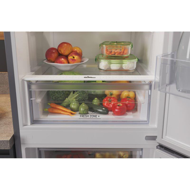 Hotpoint-Fridge-Freezer-Free-standing-HTFC8-50TI1-X-1-Inox-2-doors-Drawer