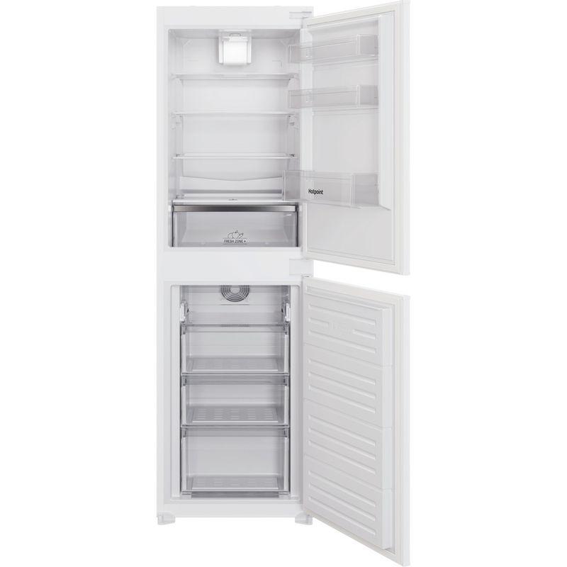 Hotpoint-Fridge-Freezer-Built-in-HBC18-5050-F1-White-2-doors-Frontal-open
