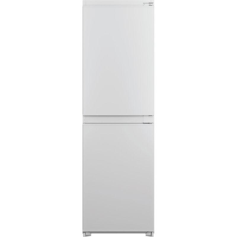 Hotpoint-Fridge-Freezer-Built-in-HBC18-5050-F1-White-2-doors-Frontal