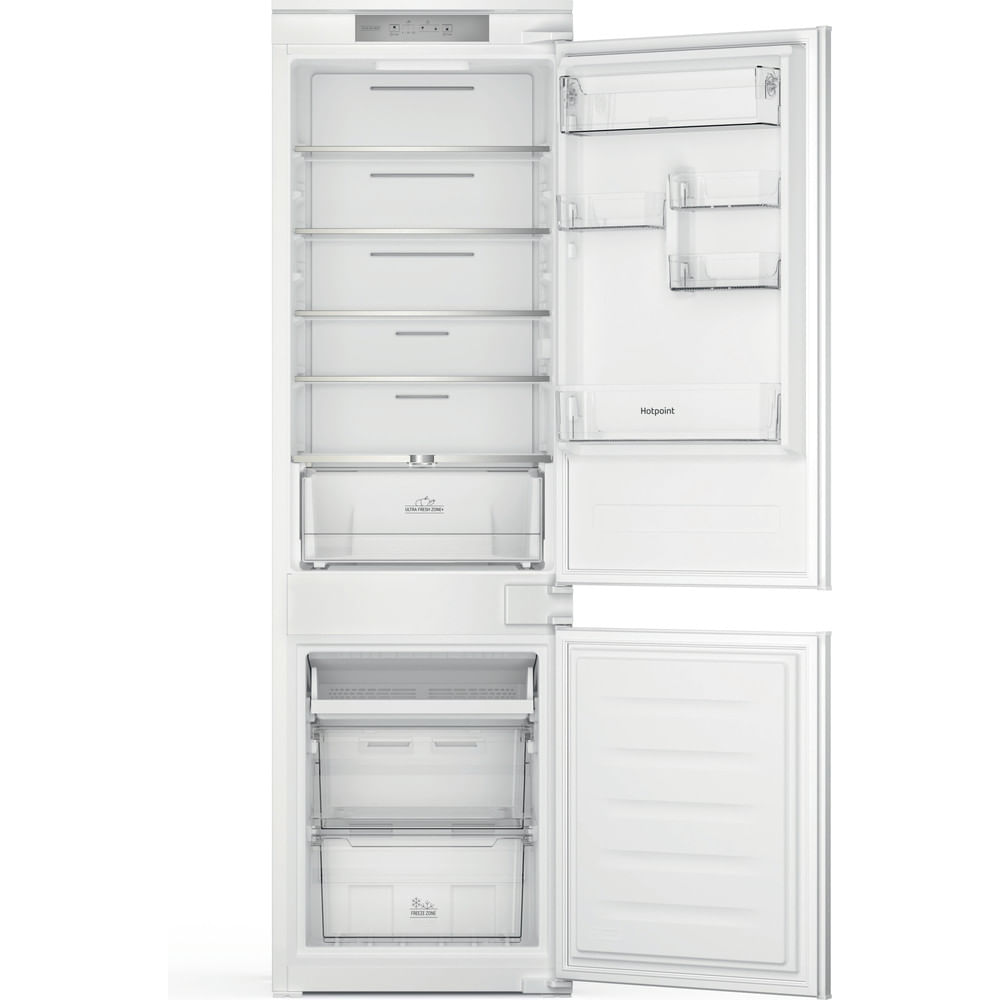 Hotpoint Integrated fridge freezer HTC18 T311 UK : discover the specifications of our home appliances and bring the innovation into your house and family.