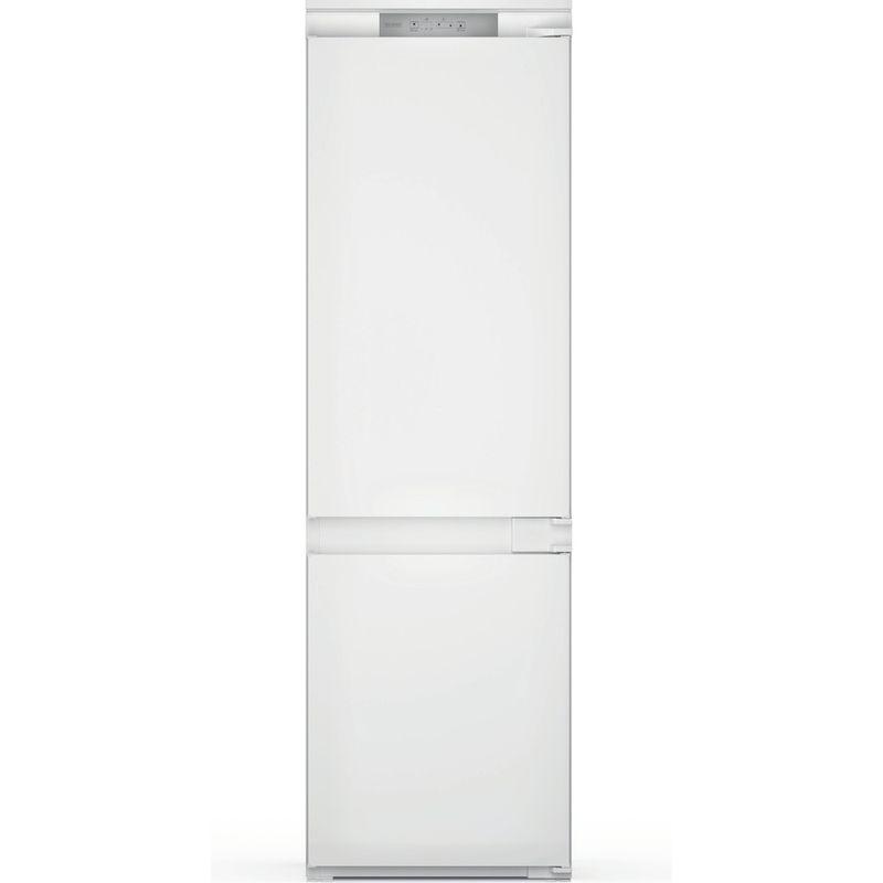 Hotpoint-Fridge-Freezer-Built-in-HTC18-T311-UK-White-2-doors-Frontal