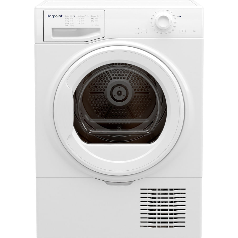 Hotpoint Freestanding tumble dryer H2 D71W UK : discover the specifications of our home appliances and bring the innovation into your house and family.
