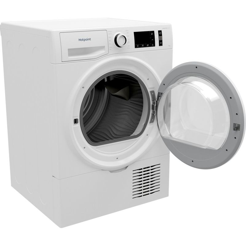 Hotpoint-Dryer-H3-D91WB-UK-White-Perspective-open