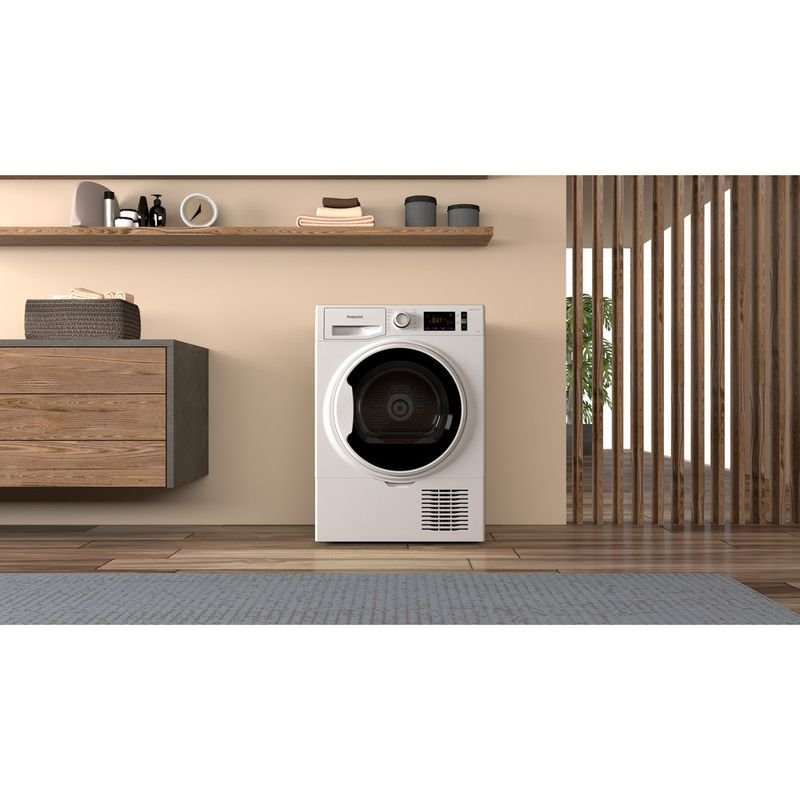 Hotpoint-Dryer-H3-D91WB-UK-White-Lifestyle-frontal
