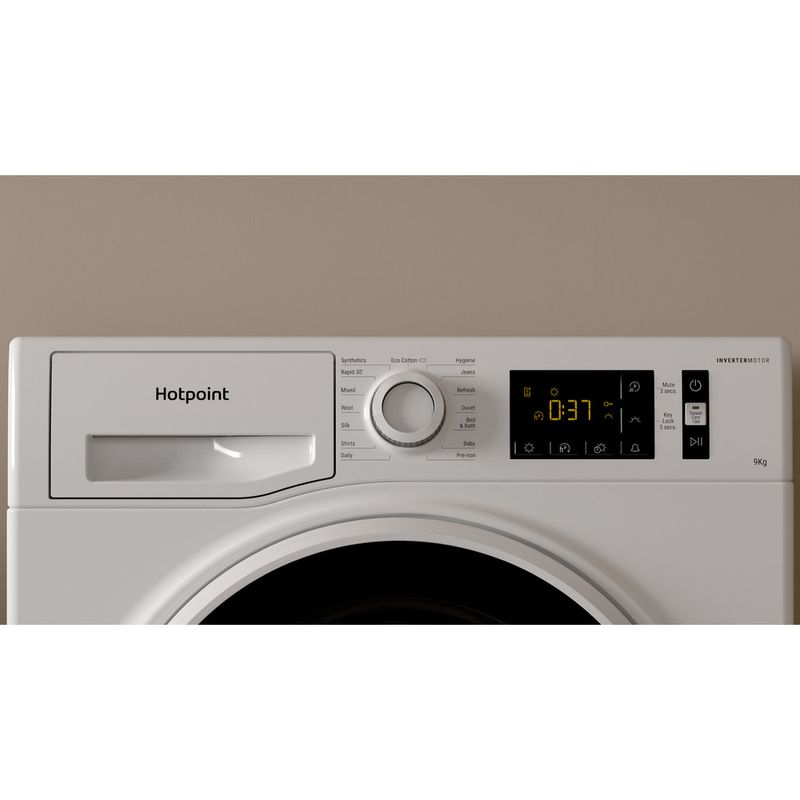 Hotpoint-Dryer-H3-D91WB-UK-White-Lifestyle-control-panel