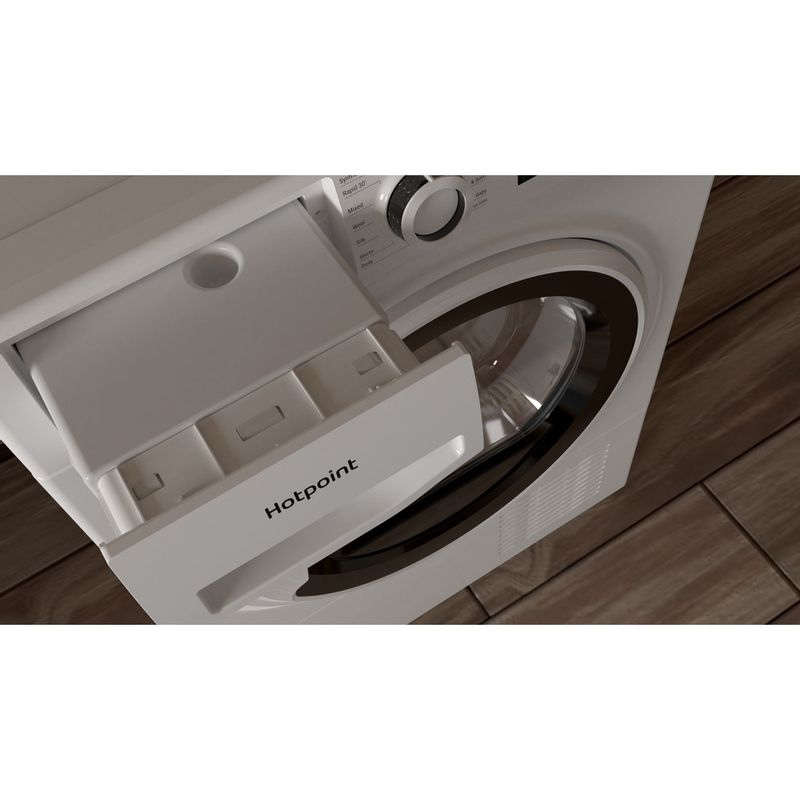 Hotpoint-Dryer-H3-D91WB-UK-White-Drawer