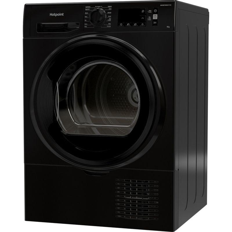 Hotpoint-Dryer-H3-D91B-UK-Black-Perspective