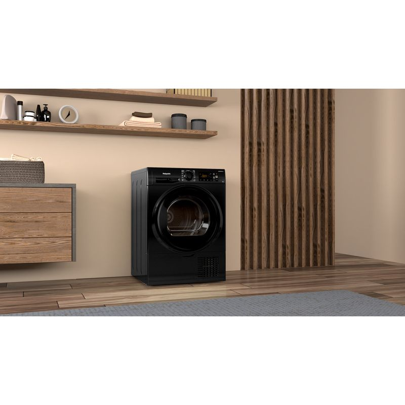 Hotpoint-Dryer-H3-D91B-UK-Black-Lifestyle-perspective