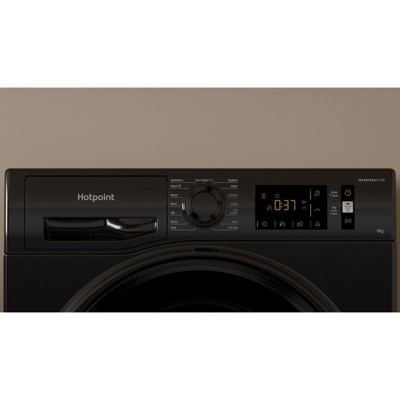 Hotpoint-Dryer-H3-D91B-UK-Black-Lifestyle-control-panel