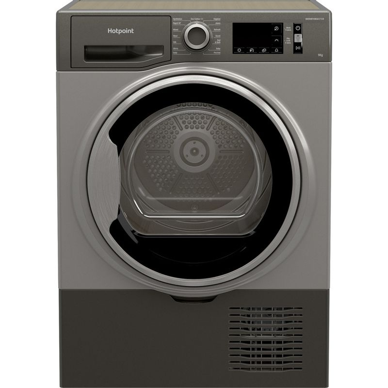Hotpoint-Dryer-H3-D91GS-UK-Graphite-Frontal