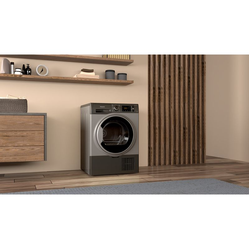 Hotpoint-Dryer-H3-D91GS-UK-Graphite-Lifestyle-perspective