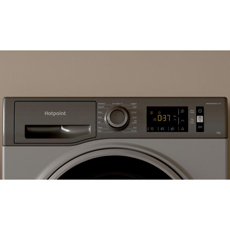 Hotpoint-Dryer-H3-D91GS-UK-Graphite-Lifestyle-control-panel