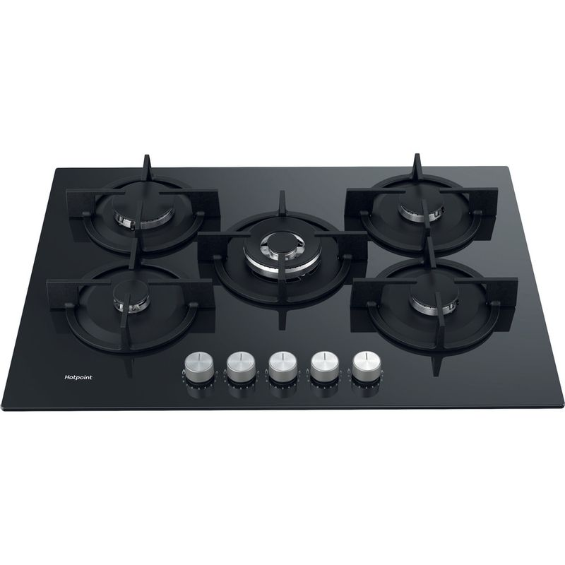 Hotpoint-HOB-HGS-72S-BK-Black-GAS-Perspective