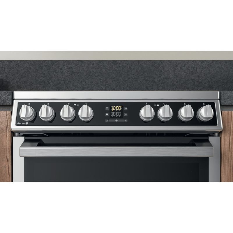Hotpoint-Double-Cooker-HDM67V8D2CX-UK-Inox-A-Lifestyle-control-panel