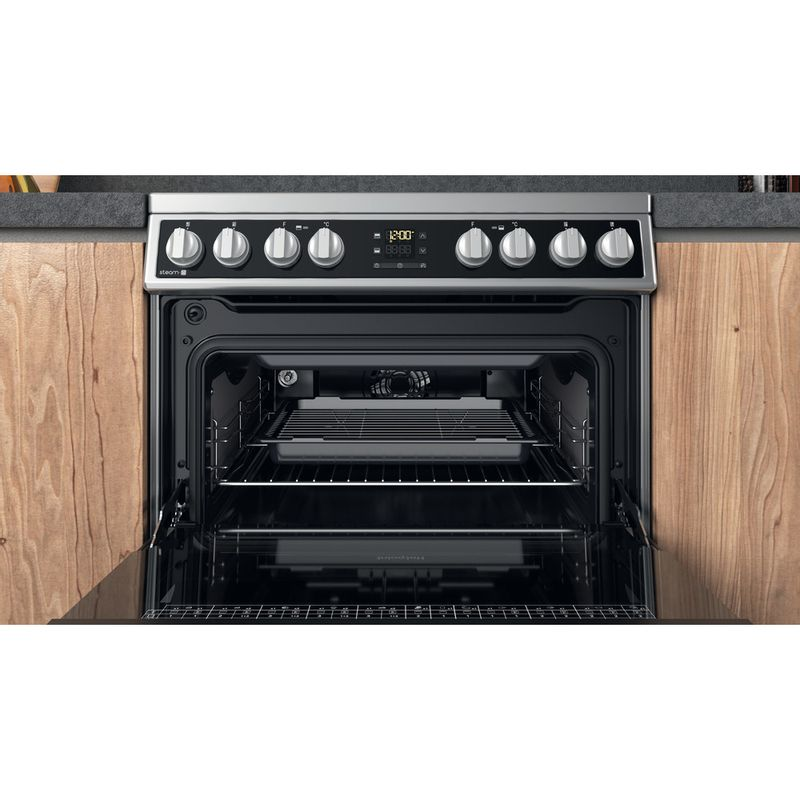 Hotpoint-Double-Cooker-HDM67V8D2CX-UK-Inox-A-Cavity